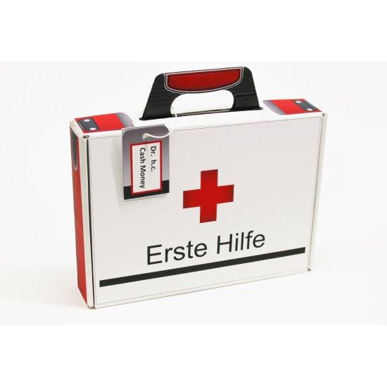 Deko Cut Geschenkkoffer Bastelset Erste Hilfe Whiteline 6 95