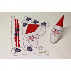 DC Glorious Eggs Bastelset 8er -Mini Santas-